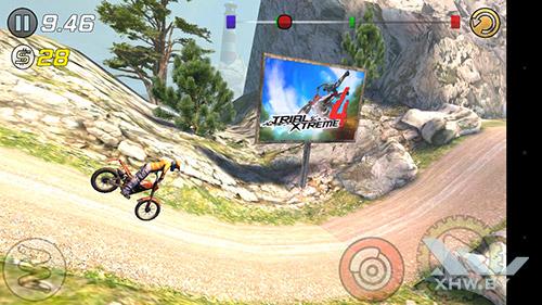 Игра Trial Xtreme 3 на Huawei Y6 Pro