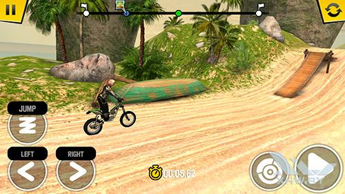 Игра Trial Xtreme 4 на Huawei Y6 Pro