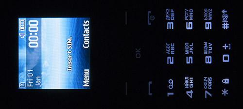 Подсветка клавиатуры Samsung SM-B110E