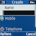 Создание контакта на Samsung SM-B110E