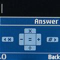 Калькулятор на Samsung SM-B110E