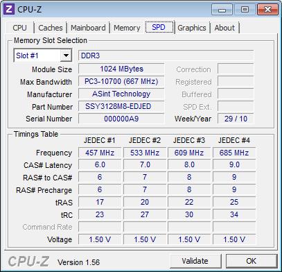 Оперативная память ASUS Eee PC 1015PD
