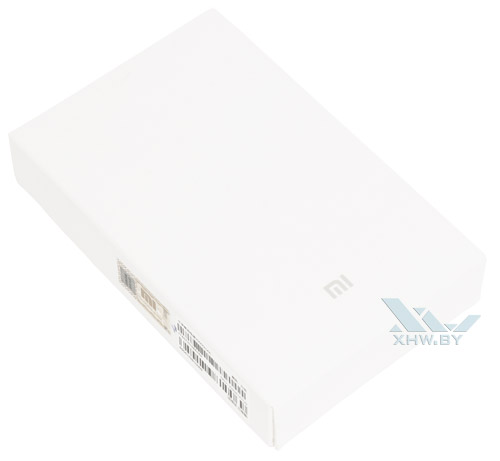 Коробка Xiaomi Mi Power Bank 20000 mAh