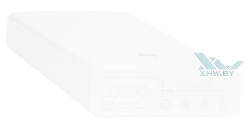 Задний торец Xiaomi Mi Power Bank 20000 mAh