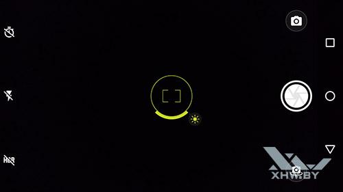 Ручная фокусировка и коррекция экспозиции в Moto G4