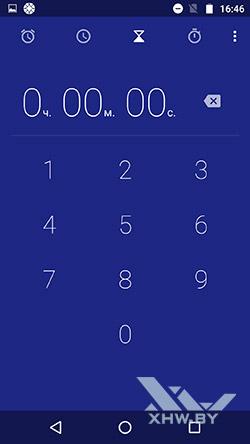 Таймер Motorola Moto G4