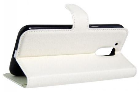 Чехол для Motorola Moto G4 с отсеком для карточек. Рис. 1