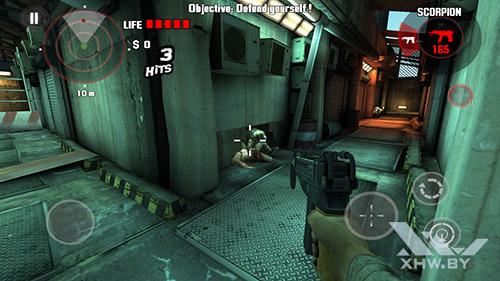 Игра Dead Trigger на Moto G4