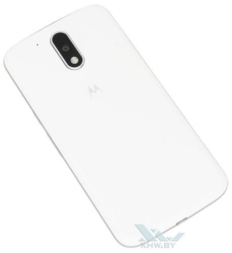 Moto G4. Тыльная сторона смартфона