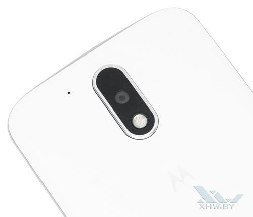 Motorola Moto G4. Основная камера и вспышка