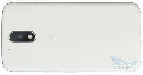 Motorola Moto G4. Вид сзади
