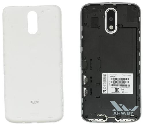 Motorola Moto G4 со снятой крышкой