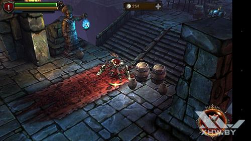 Игра Eternity Warriors 2 на Moto G4