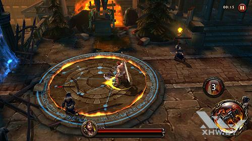 Игра Eternity Warriors 4 на Moto G4