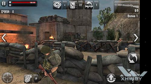 Игра Frontline Commando: Normandy на Moto G4