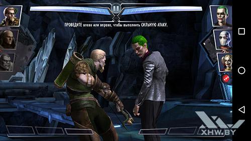 Игра Injustice на Moto G4
