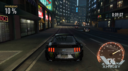 Игра Need For Speed: Most Wanted на Moto G4