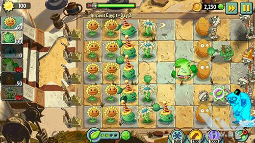 Игра Plants vs Zombies 2 на Moto G4