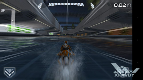 Игра Riptide GP2 на Moto G4