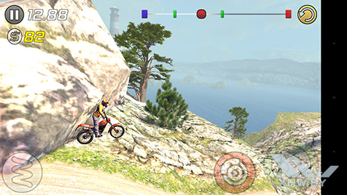 Игра Trial Xtreme 3 на Moto G4