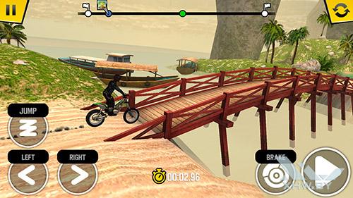 Игра Trial Xtreme 4 на Moto G4