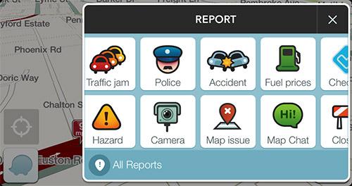 Наполнять контентом Waze должны сами пользователи