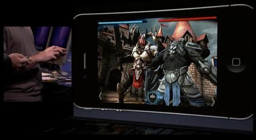 Unreal Engine на Apple iPhone