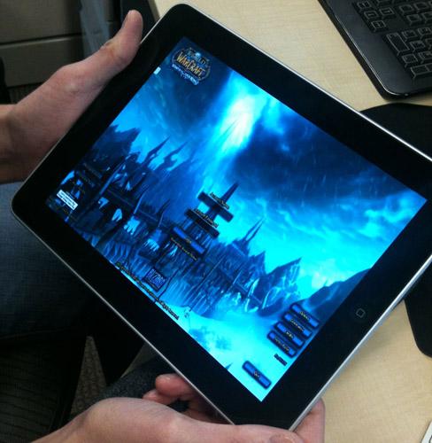 World of Warcraft на Apple iPad
