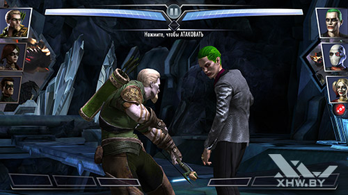 Игра Injustice: Gods Among Us на Lenovo Vibe K5 Note