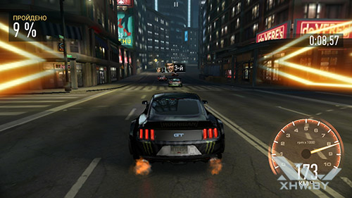Игра Need For Speed: Most Wanted на Lenovo Vibe K5 Note