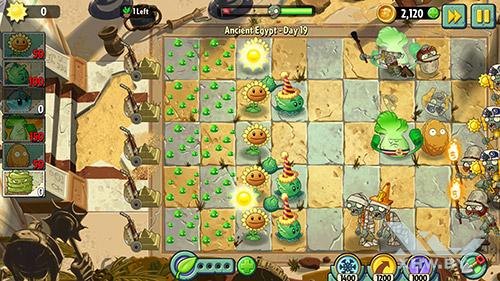 Игра Plants vs Zombies 2 на Lenovo Vibe K5 Note