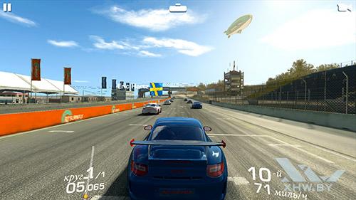 Игра Real Racing 3 на Lenovo Vibe K5 Note
