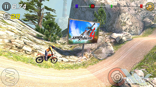 Игра Trial Xtreme 3 на Lenovo Vibe K5 Note