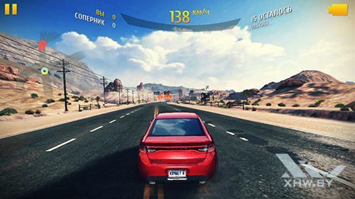 Игра Asphalt 8 на Motorola Moto G (3rd)