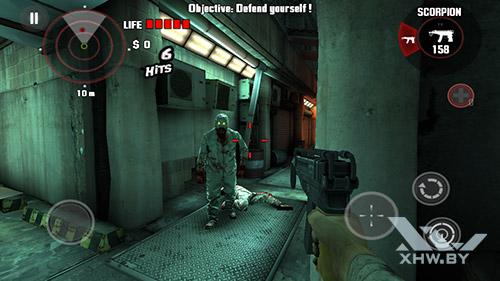 Игра Dead Trigger на Motorola Moto G (3rd)