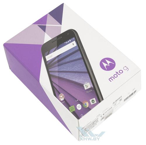 Коробка Motorola Moto G (3rd)