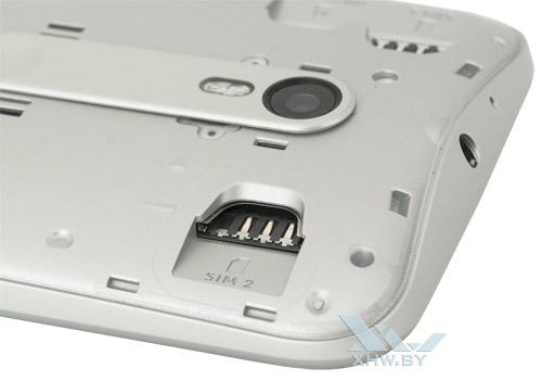 Разъем для второй SIM-карты на Motorola Moto G (3rd)
