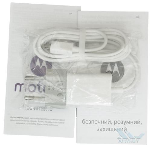 Комплектация Motorola Moto G (3rd)