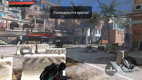 Игра Frontline Commando 2 на Motorola Moto G (3rd)