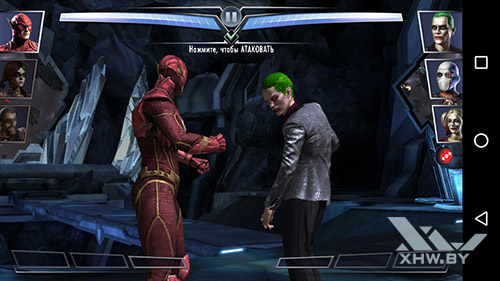 Игра Injustice: Gods Among Us на Motorola Moto G (3rd)