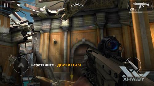 Игра Modern Combat 5 на Motorola Moto G (3rd)