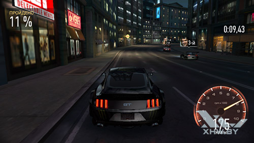 Игра Need For Speed: Most Wanted на Motorola Moto G (3rd)