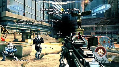 Игра N.O.V.A. 3 на Motorola Moto G (3rd)