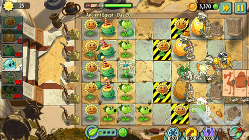 Игра Plants vs Zombies 2 на Motorola Moto G (3rd)