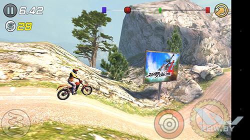 Игра Trial Xtreme 3 на Motorola Moto G (3rd)
