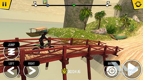 Игра Trial Xtreme 4 на Motorola Moto G (3rd)