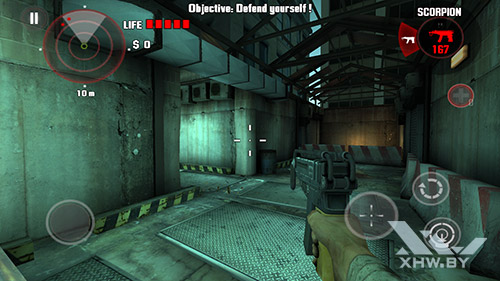 Игра Dead Trigger на Huawei Nova