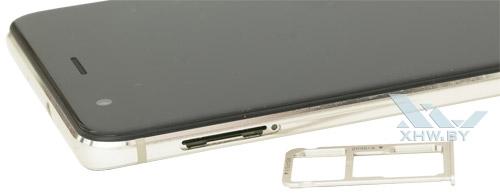 Отсек для SIM-карты на Huawei Nova