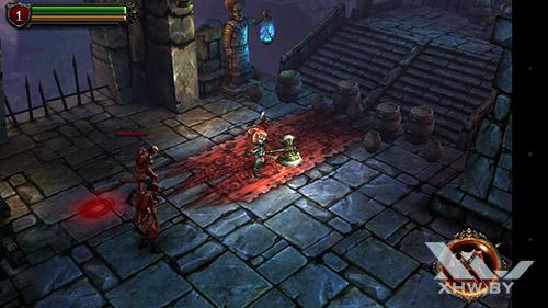 Игра Eternity Warriors 2 на Huawei Nova