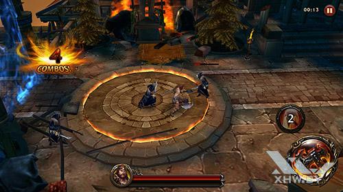 Игра Eternity Warriors 4 на Huawei Nova
